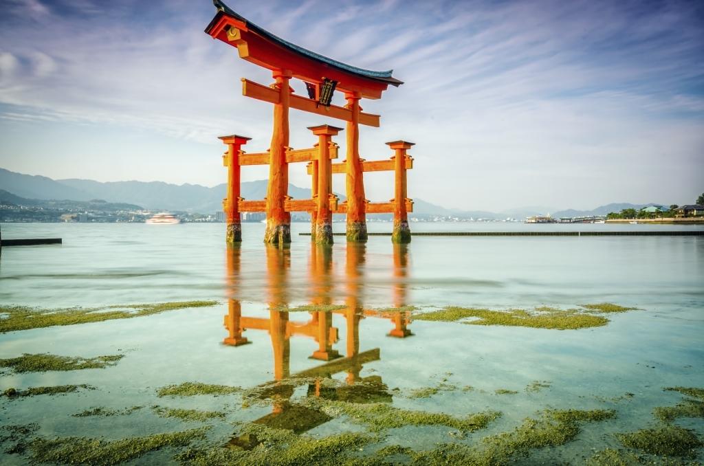 Travaux à Miyajima