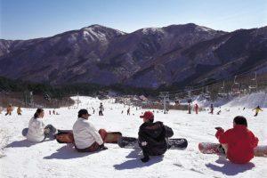 Le ski à Hiroshima