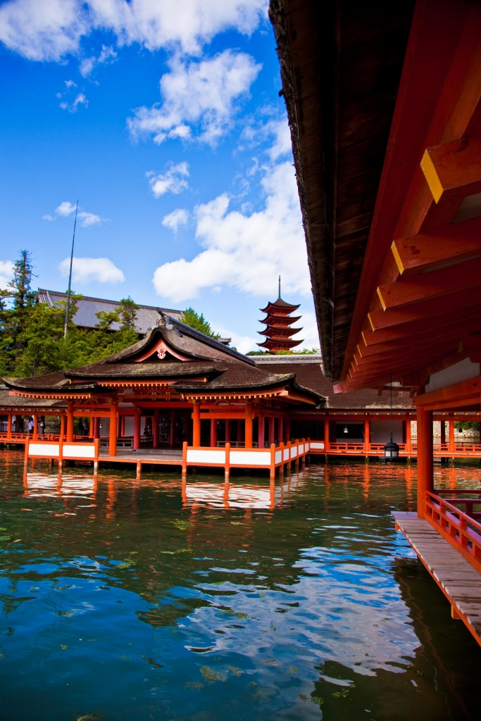Sanctuaire Itsukushima...