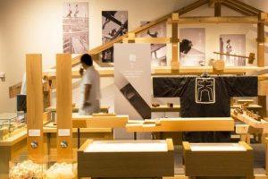 Le musée des outils de menuiseriede Takenaka