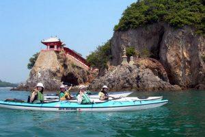 Kayak de mer à Tomonoura