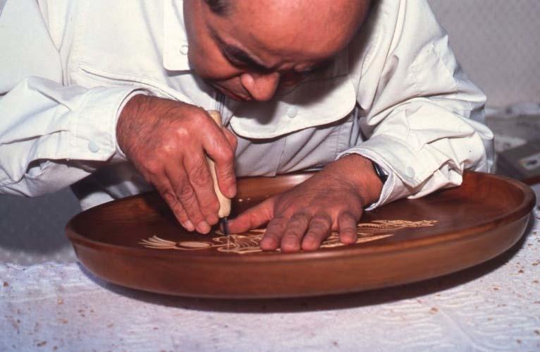 Miyajima-zaiku, l'artisanat du bois