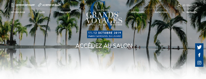 Salon des Grands Voyages 2019