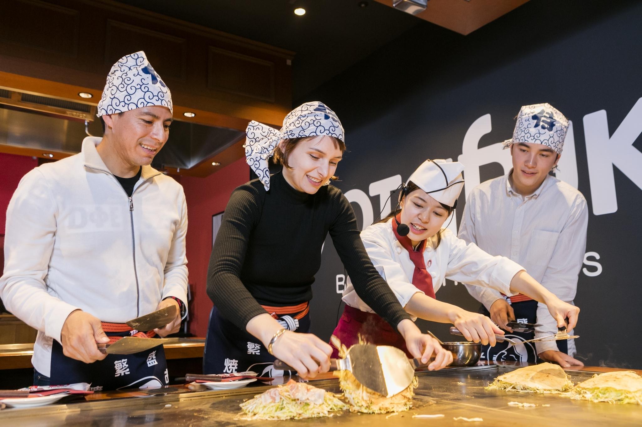 Atelier de cuisine Okonomiyaki