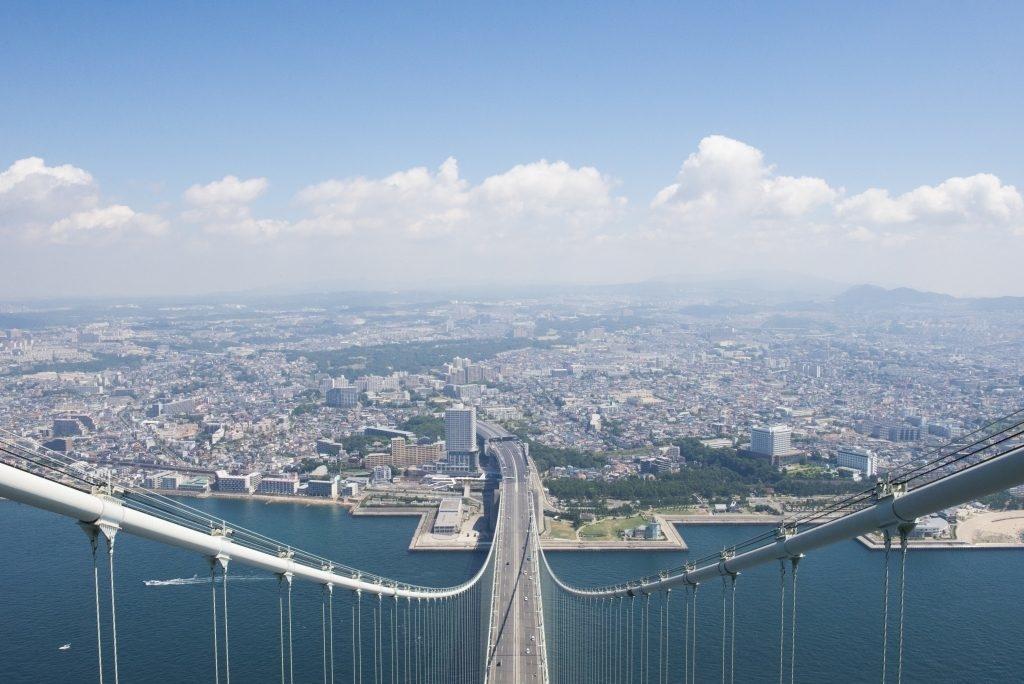 Visite du pont Akashi (Bridge World)