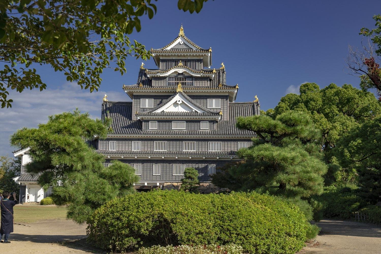 Château noir d'Okayama
