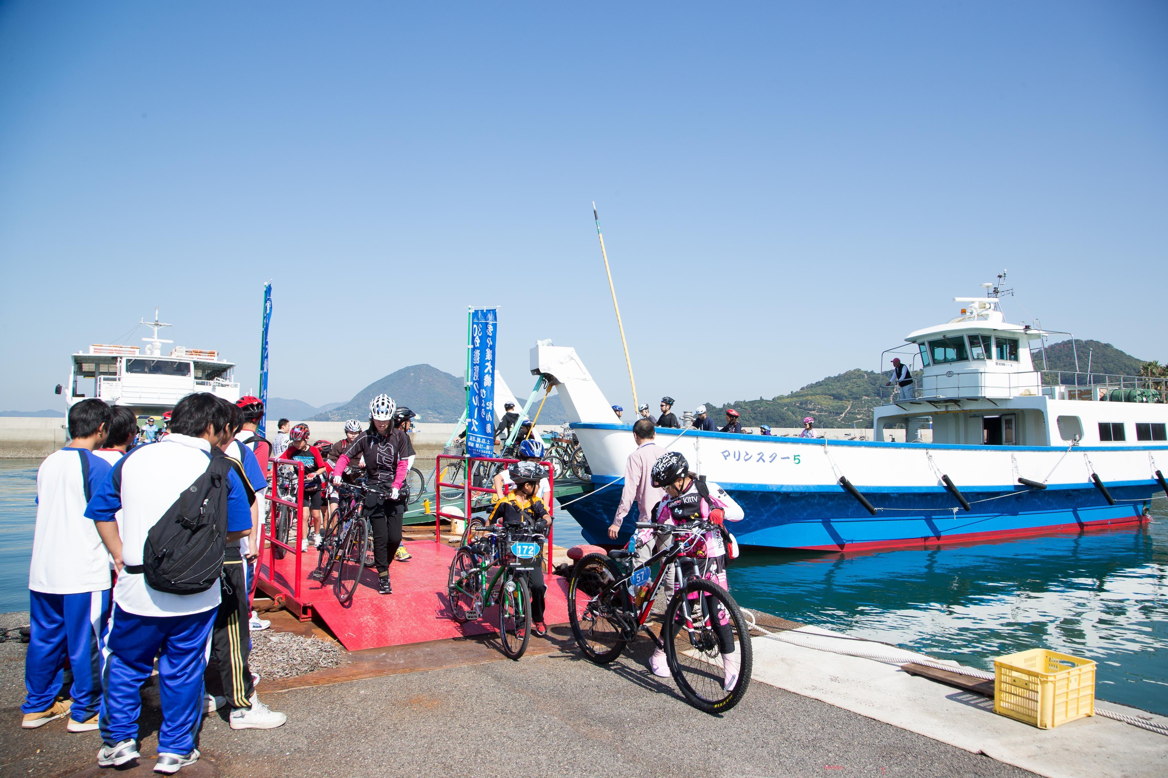 Evénement de cyclisme sur la route Shimanami Kaido