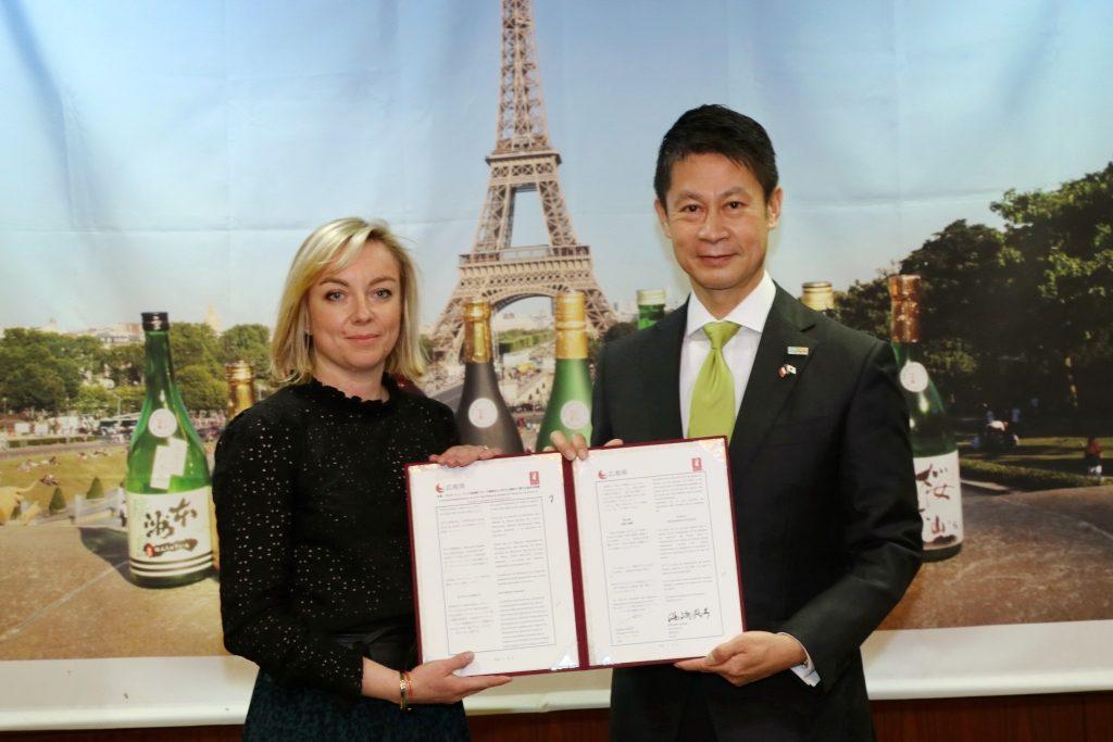 Accord Hiroshima saké Bourgogne Jura vignerons