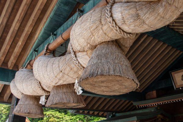 Shimanawa sacrée du grand sanctuaire Izumo Taisha Shimane Japon tourisme hors des sentiers battus
