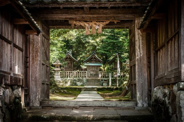 Petit sanctuaire à côté du Izumo Taisha Shimane Japon tourisme hors des sentiers battus