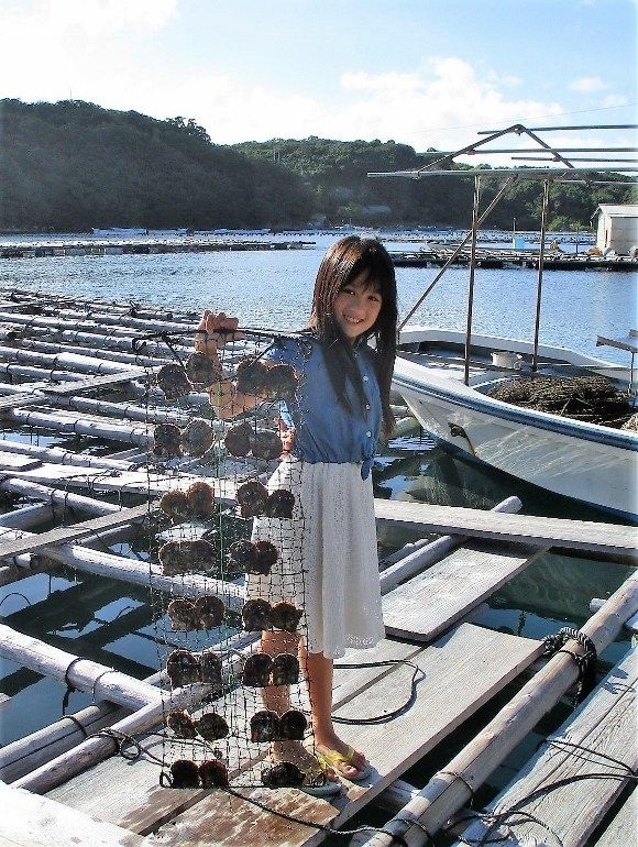 L'extraction de perle à Shinju no Sato