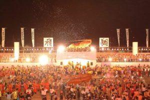 Festival de l'Ise-ebi (homard épineux japonais)