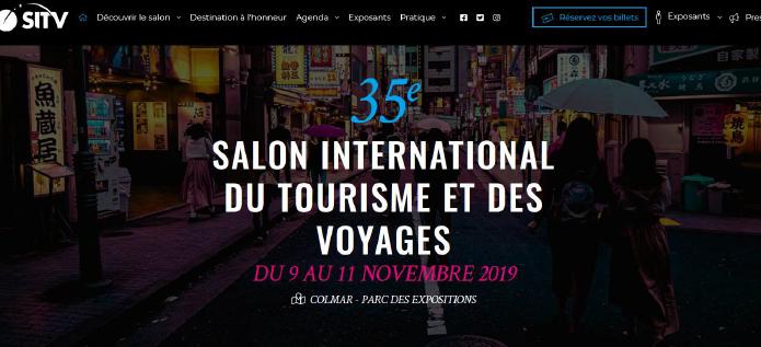 Salon international du tourisme et des voyages de Colmar 2019