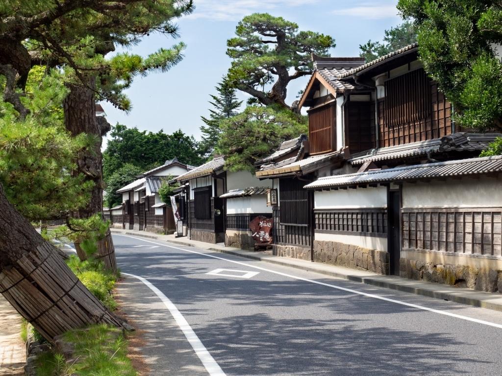 La rue Shiomi Nawate