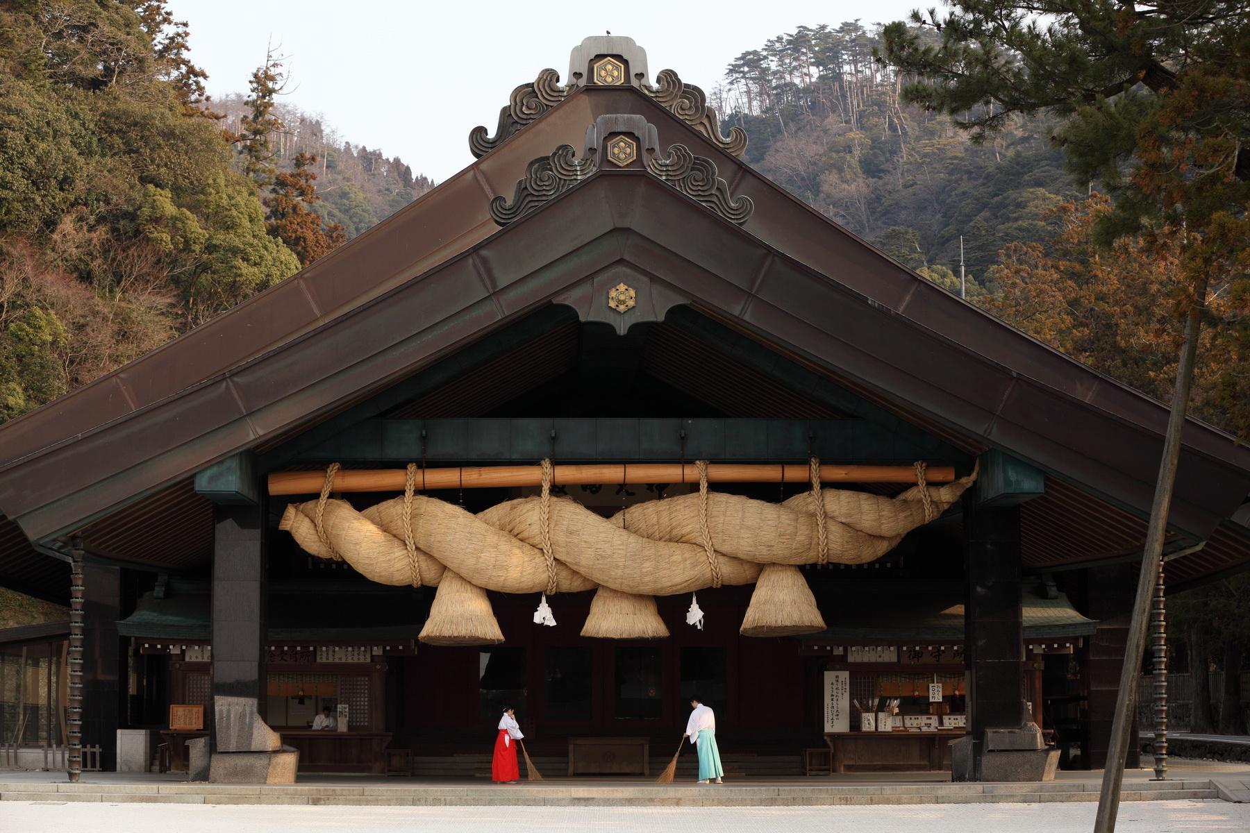Le grand sanctuaire Izumo Taisha