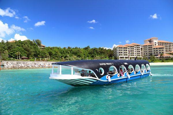 okinawa nago voyage tourisme japon île eau turquoise observatoire poisson tropical sous-marin récif corallien