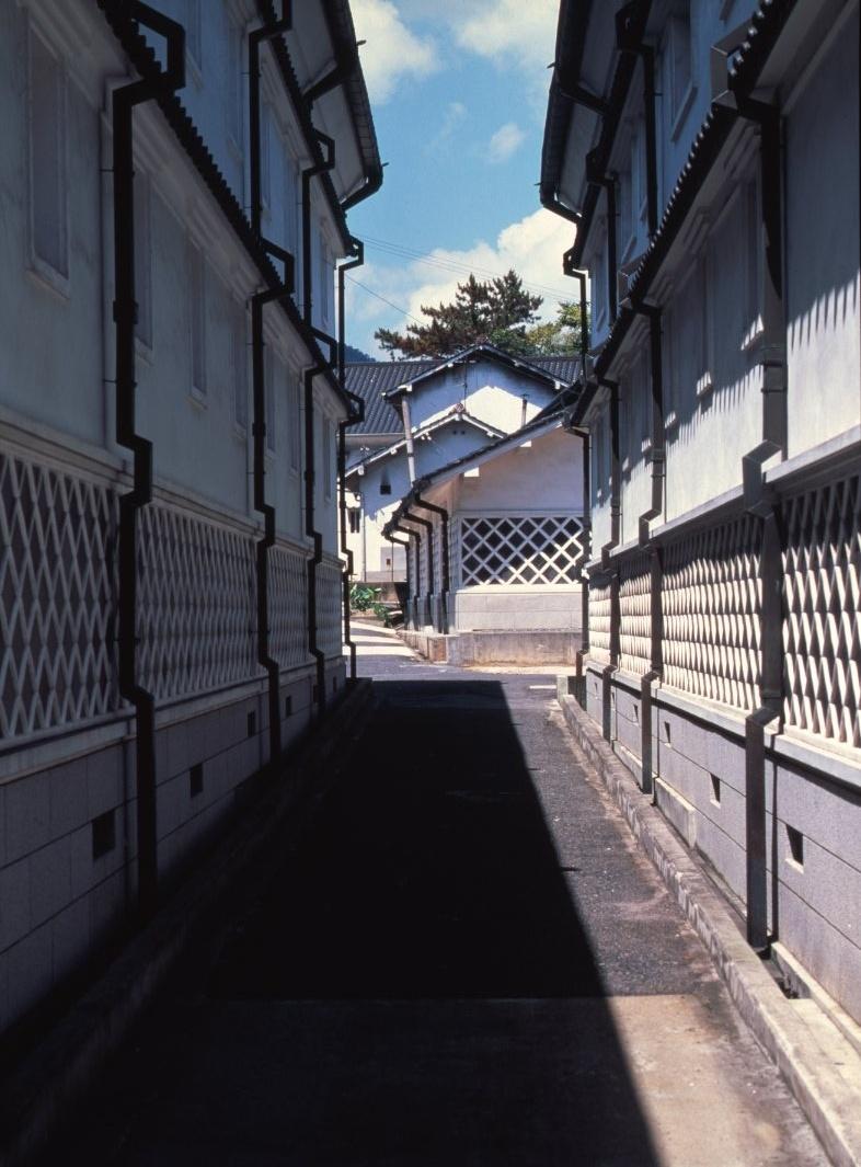 La rue des brasseries à Saijo
