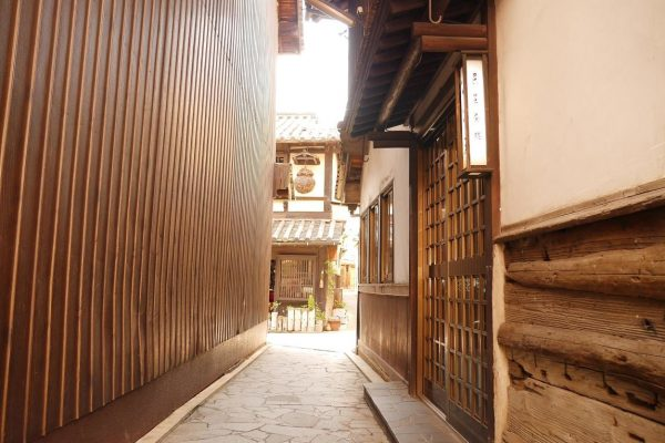 ruelle traditionnelle fukuyama historique tourisme japon hiroshima tomonouchi