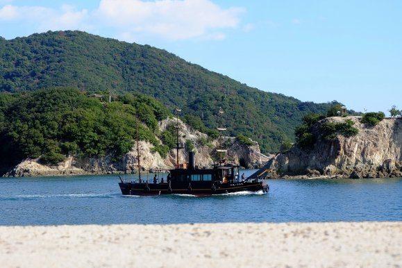 îlots bateau fukuyama traditionnelhistorique tourisme japon hiroshima