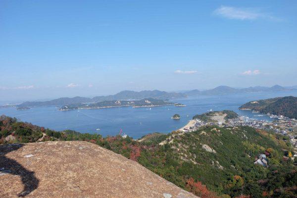 shiraishi kasaoka okayama japon randonnée treck montagne mer seto nature