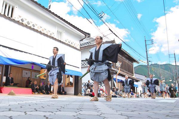 dogeza festival matsuri défilé samourai défilé parade guerrier sabre katana traditionnel