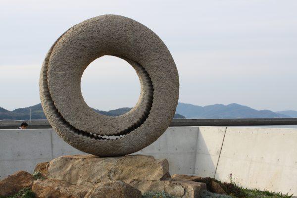 kitagishima carrières pierre kasaoka île okayama japon mer montagne nature