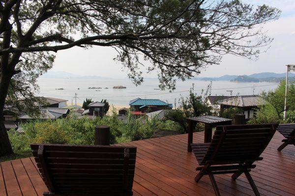 shiraishi international villa kasaoka okayama japon expérience vie insulaire plage mer