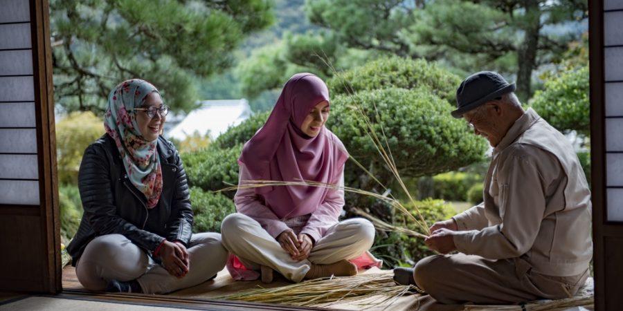 atelier artisanat paille tradition okayama japon voyage tourisme