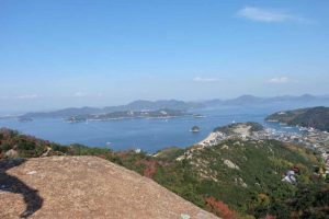 Randonnée sur l'île de Shiraishi