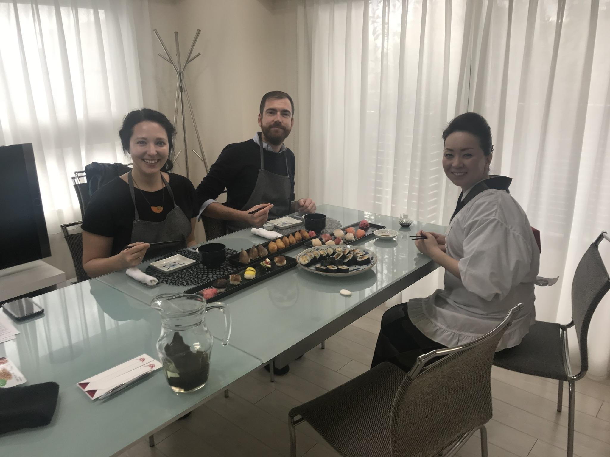 Cours de cuisine japonaise à Osaka