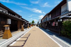 Le district Jōtō, zone de conservation de bâtiments traditionnels