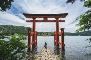 Le sanctuaire Hakone-jinja
