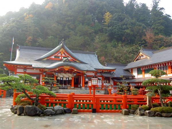 Le Sanctuaire Taikodani Inari de Tsuwano