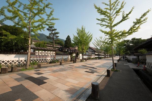 La rue Tonomachi de Tsuwano