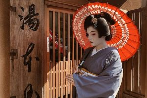 """Meet Geisha"" à Hakone-Yumoto!"