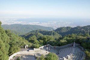 Le mont Rokkō