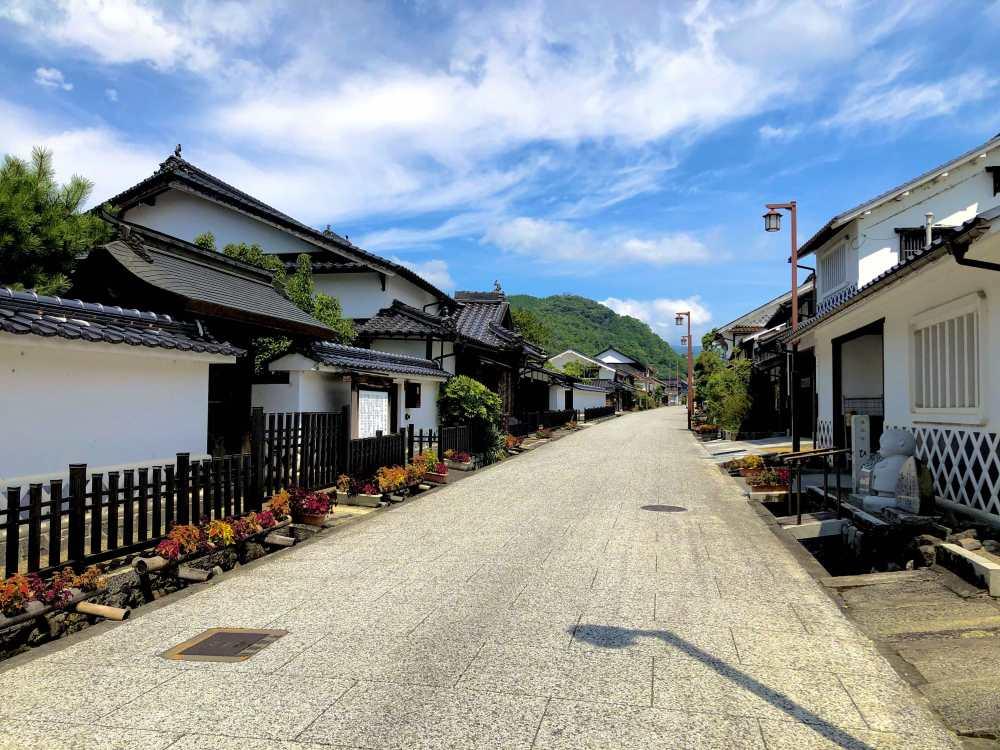 Le quartier Ōhara-juku