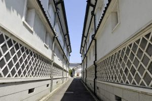 La rue des brasseries à Saijō