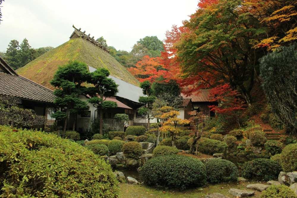 WA-SAKURA - Japon Voyage Tourisme Shimane Tsuwano Yōmeiji temple Kakuôzan extérieur nature montagne automne kôyô extérieur