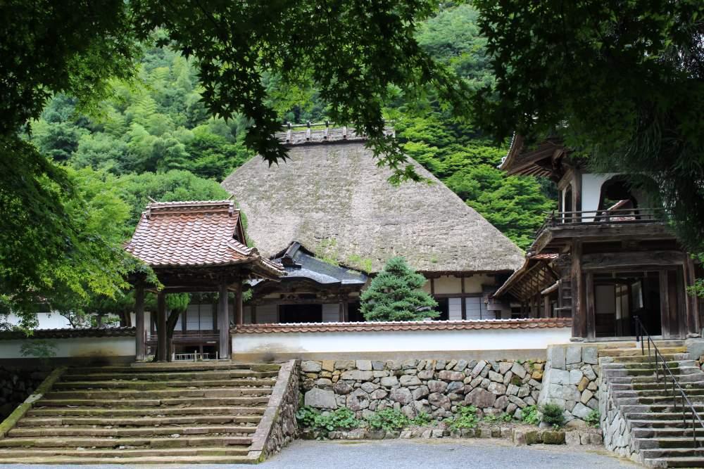 WA-SAKURA - Japon Voyage Tourisme Shimane Tsuwano Yōmeiji temple Kakuôzan extérieur nature montagne portail