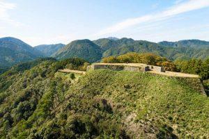 Les ruines du château de Tsuwano