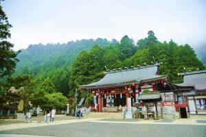 Le Sanctuaire Oyama Afuri-Jinja