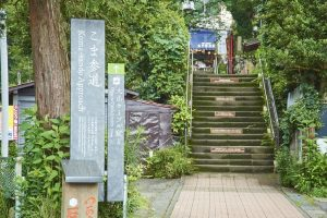 Koma-sando : le chemin d'accès au Mont Oyama